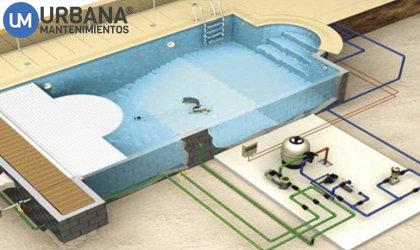 Equipo filtracion piscina